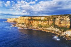 D N Head CLiffs Only 2 South Royalty Free Stock Images