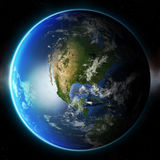 планета земли 3d Элементы этого изображения поставленные NASA другое Стоковое фото RF