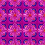 3d neon roze geometrisch naadloos patroon stock illustratie
