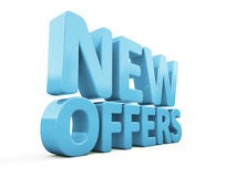 3d New offers Royalty Free Stock Image