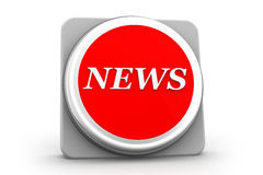 3d News icon Stock Images