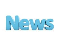 3d news Stock Image