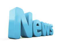 3d news Royalty Free Stock Photos