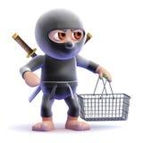 3d Ninja customer Royalty Free Stock Photos