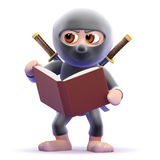 3d Ninja studies Stock Photo