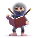 3d Ninja studies Stock Photo