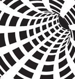 3d noir et blanc forme le vecteur Image libre de droits
