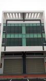 3d nowożytna budynek powierzchowność Obrazy Stock
