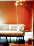 3 d obraz wewnętrzny salon Zdjęcia Royalty Free