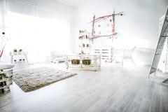 3 d obraz wewnętrzny salon Fotografia Stock