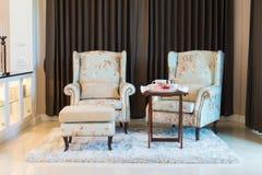 3 d obraz wewnętrzny salon Obrazy Royalty Free