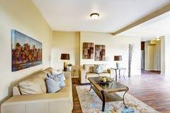 3 d obraz wewnętrzny salon Obraz Royalty Free