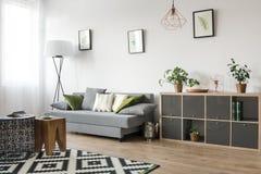 3 d obraz wewnętrzny salon Fotografia Royalty Free