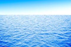 3d ocean i niebo Zdjęcia Royalty Free