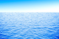 3d ocean and sky Royalty Free Stock Photos