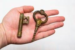 3 d odizolowane kluczowy przedmiot Obrazy Royalty Free