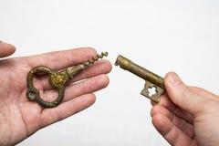 3 d odizolowane kluczowy przedmiot Zdjęcia Stock