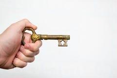 3 d odizolowane kluczowy przedmiot Obraz Stock