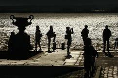 3 d odizolowane przedmiot sylwetek ludzi Fotografia Stock