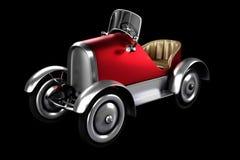 3d odpłaca się depresja klucza strzał czerwonych retro następów samochodowy pojęcie de Ilustracja Wektor