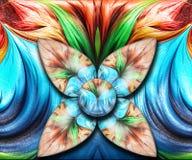 3D odpłaca się kolorową combo grafikę Zdjęcia Royalty Free
