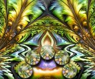 3D odpłaca się kolorową combo grafikę Obraz Royalty Free