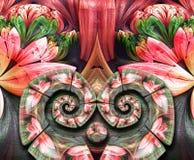 3D odpłaca się kolorową combo grafikę Fotografia Stock