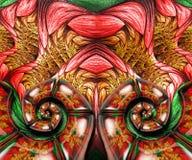 3D odpłaca się kolorową combo grafikę Fotografia Royalty Free