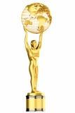 3d odpłacają się, Światowy kuli ziemskiej trofeum Zdjęcia Royalty Free