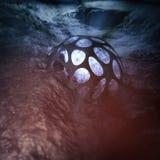3D Odpłacają się Dziwaczna relikwia Podwodny Na ocean podłoga Obrazy Royalty Free