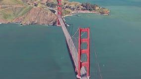 3d odpłacają się Golden gate bridge ilustracja wektor