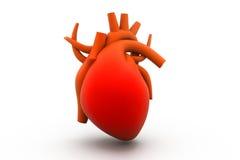 3d odpłacają się ludzki serce Zdjęcie Stock