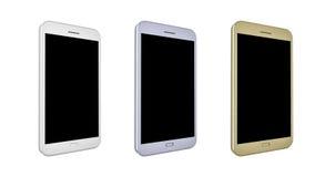 3D odpłacają się smartphones Zdjęcia Royalty Free