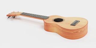 3D Odpłacają się ukulele royalty ilustracja