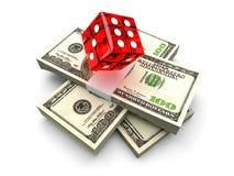 Pieniądze Uprawiać hazard ilustracja wektor