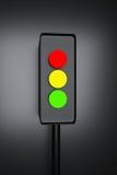 3d odpłacająca się sygnalizacja drogowa ilustracja wektor