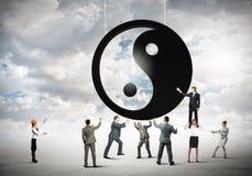 3d odpłacający się pojęcie balansowy obrazek Fotografia Stock