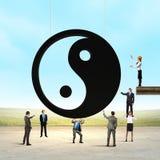 3d odpłacający się pojęcie balansowy obrazek Zdjęcie Royalty Free