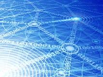3d odpłacający się sieć komputerowa obrazek Fotografia Stock