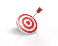 3d odpłacający się strzałkowaty obrazek cel Obraz Stock