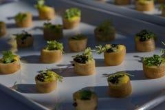 D'oeuvres 7 de Hors do gourmet Imagens de Stock