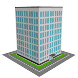 3D office building Stock Photos
