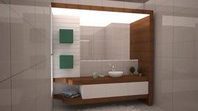 3D Office plan Stock Image