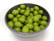 3d olives Stock Image