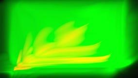 3d ondulato astratto De-messo a fuoco rendere con nebbia e le linee per progettazione, onde astratte di pendenza del fondo illustrazione di stock