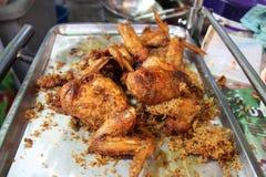 Dłoniaka kurczak Zdjęcia Royalty Free