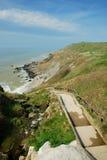 d'Opale da costa, France Fotos de Stock Royalty Free