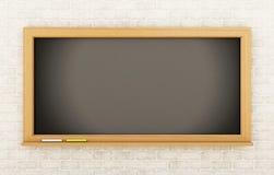 3d opróżniają blackboard jest edukacja starego odizolowane pojęcia Fotografia Royalty Free
