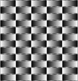 3d optical illusion. Optical illusion with lines and colors Royalty Free Stock Photography