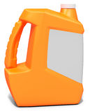 3d orange blank container, canister, jug. On white background 3D illustration Stock Photo